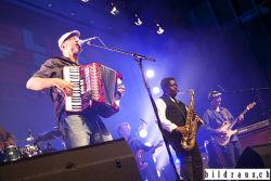 Ludwig Seuss & Band spielen anlŠsslich des Bluesfestival 2016 im Trafo in Baden. Ludwig Seuss (voc, piano, acc), Christoph ÒBebofÓ Bšhm (guitar), Tom Peschel (b), Christoph Buhse (drums), Eddie Taylor (sax). © bildraus.ch, Rolf Jenni, Fotograf, Industriepark Asp, Joosaeckerstrasse 12, 8957 Spreitenbach. Handy: 079-715 65 50  E-Mail: info@bildraus.ch  Web: www.bildraus.ch
